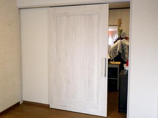 内装リフォーム 介護が必要な家族のためのバリアフリー&断熱部屋
