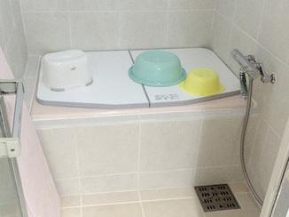 バスルームリフォーム 在来浴室でも温かいバスルームに