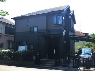 外壁・屋根リフォーム シックでかっこいい!イメージ通りの色合いになった外壁
