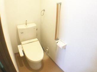 トイレリフォーム 2階へのトイレ増設で、夜も安心