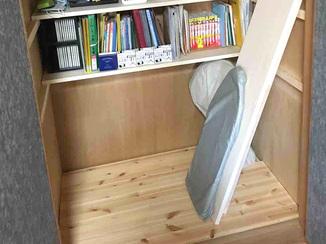 内装リフォーム お客様自身でカスタマイズ可能な収納空間