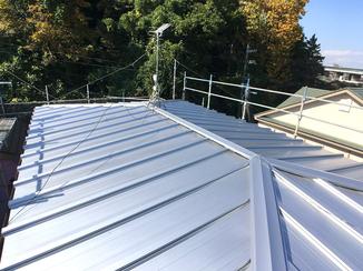 外壁・屋根リフォーム 防錆性が優れ、長持ちする屋根