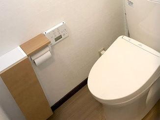 トイレリフォーム 内窓を変えカビとさよなら! 掃除もしやすくなったトイレ空間