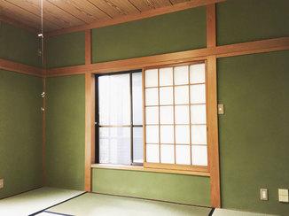 内装リフォーム 赤カビ対策をして今後も安心できる漆喰塗り壁