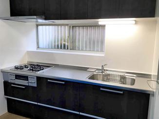 キッチンリフォーム 幅が広くなり使い勝手が格段に良くなったキッチン