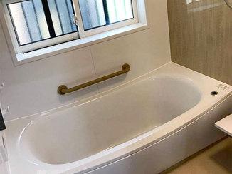 バスルームリフォーム 断熱仕様で寒さを感じず、快適に過ごせる浴室