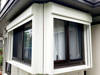 エクステリアリフォーム 台風の時も安心!雨風を防ぐシャッターと、冬場の結露を抑える窓