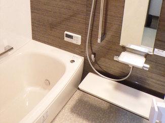 バスルームリフォーム 機能が充実した、ホテルライクなバスルーム